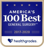 Healthgrades America's 100 Best General Surgery Shield